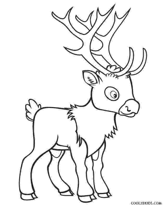 free printable coloring pages reindeer free printable reindeer coloring pages for kids reindeer pages free printable coloring