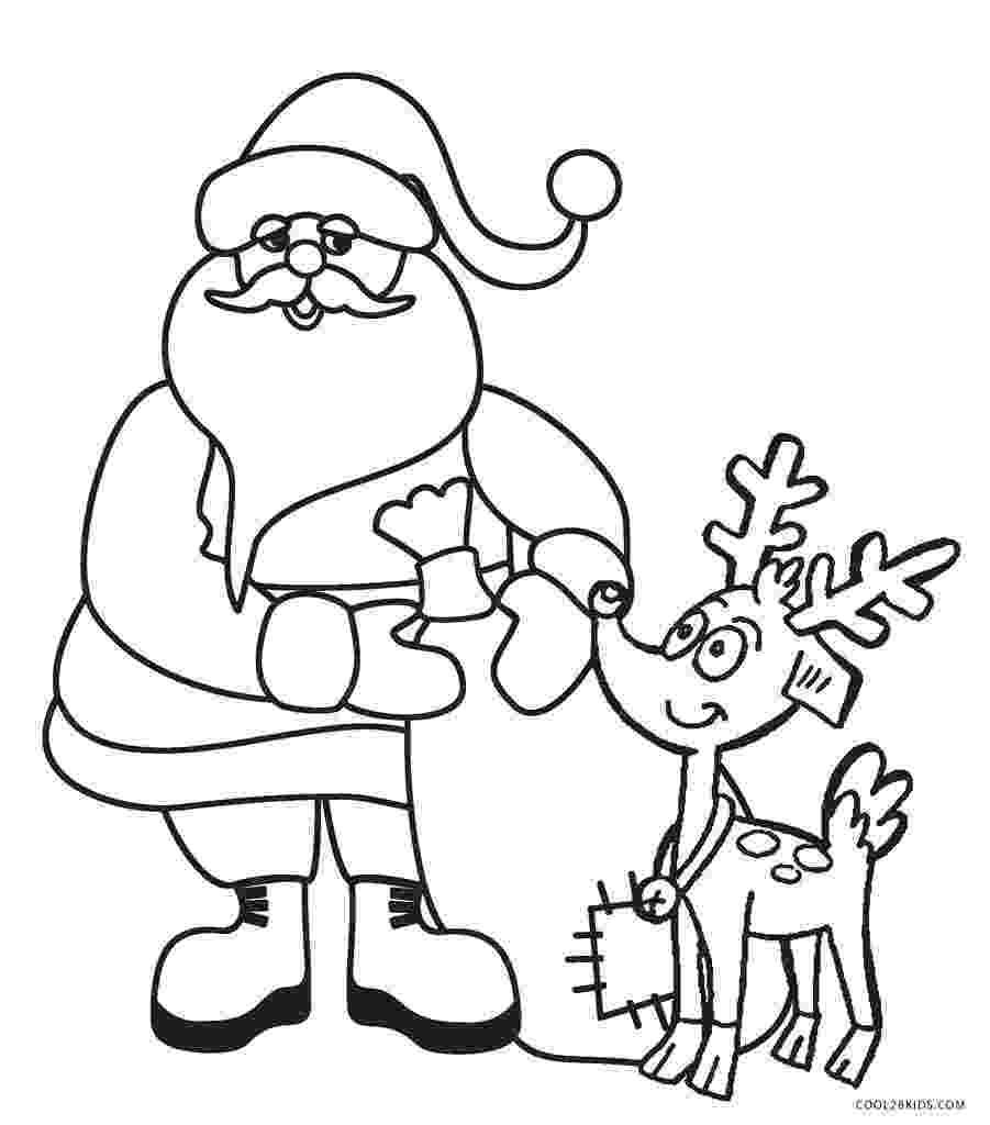 free printable coloring pages reindeer free printable santa coloring pages for kids cool2bkids pages free coloring printable reindeer
