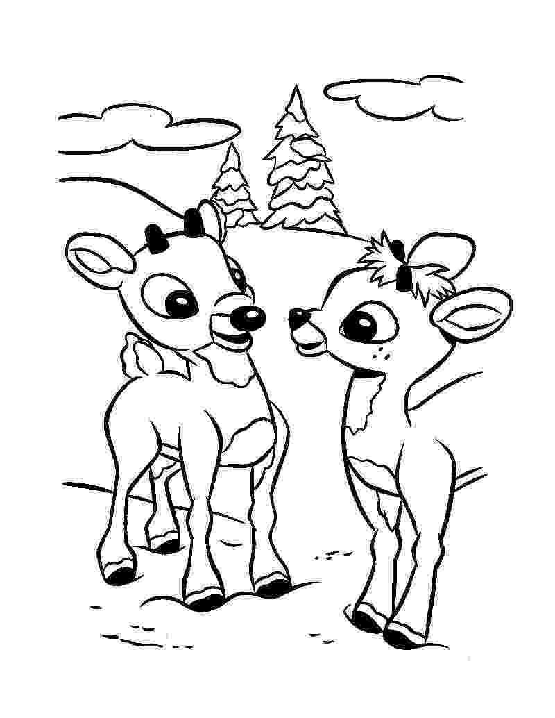 free printable coloring pages reindeer reindeer coloring pages to download and print for free coloring pages printable free reindeer