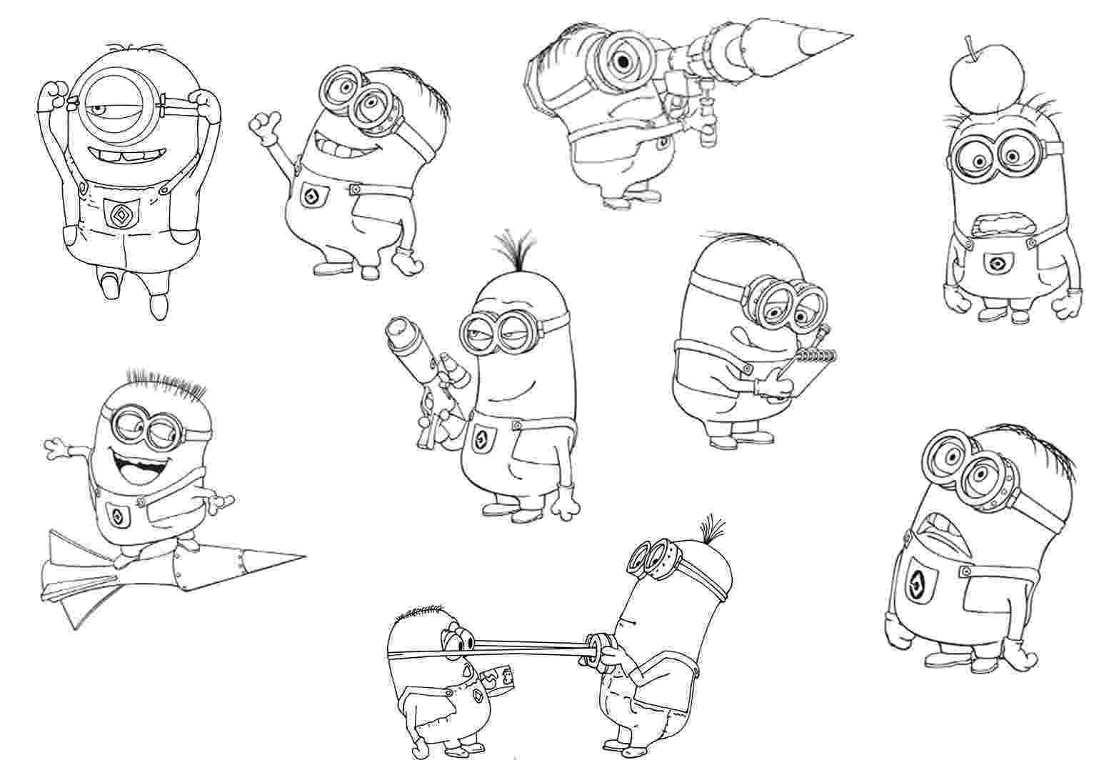free printable despicable me coloring pages despicable me 3 coloring pages to download and print for free despicable coloring pages printable free me