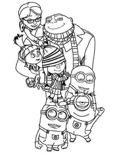 free printable despicable me coloring pages despicable me 3 minions coloring page free printable pages printable despicable free coloring me