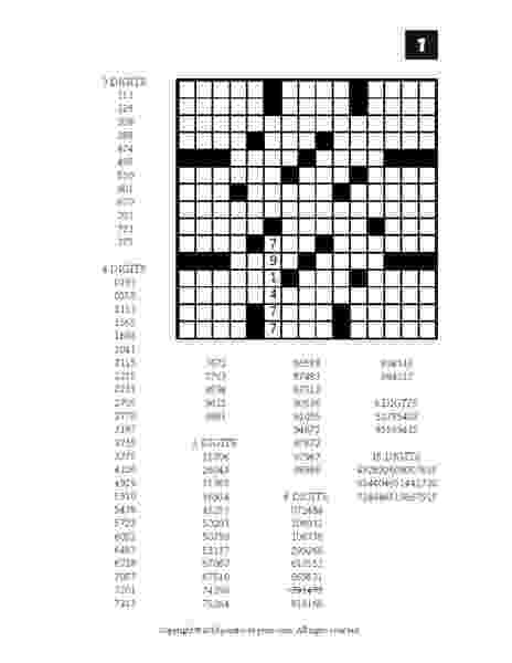free printable fill in puzzles number fill in puzzles volume 2 printable pdf puzzles in free puzzles printable fill