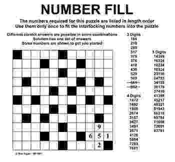 free printable fill in puzzles number fill it in puzzles pinterest numbers in printable puzzles fill free
