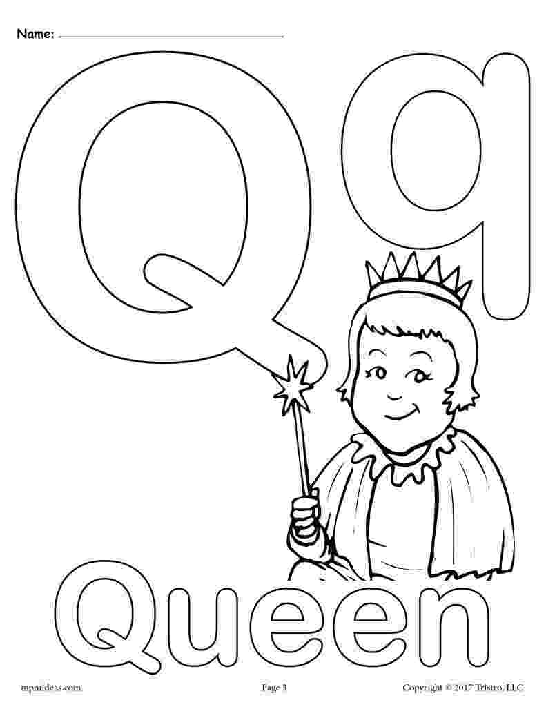 free printable letter q coloring pages letter q alphabet coloring pages 3 free printable coloring free q printable letter pages