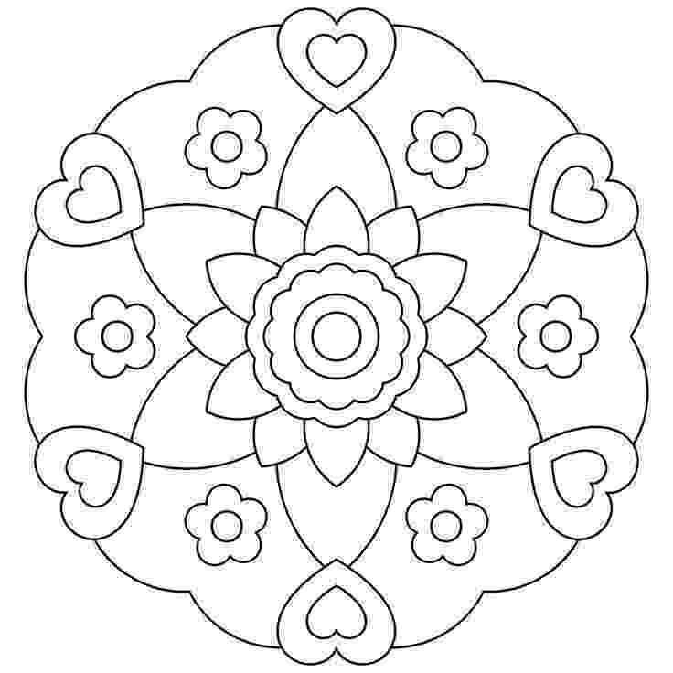 free printable mandala coloring sheets mandala with sun coloring page free printable coloring pages mandala printable sheets free coloring