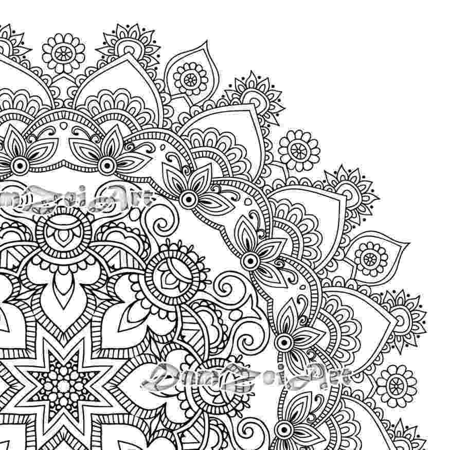 free printable mandala designs don39t eat the paste mandalas coloring pages printable designs free mandala