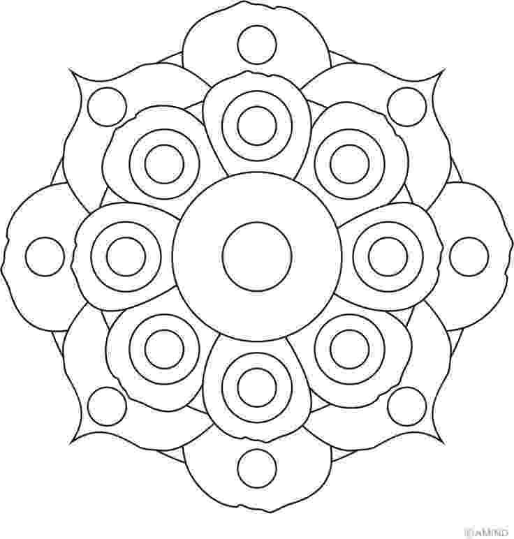 free printable mandala designs free printable mandala coloring pages shapes page 1 of free mandala designs printable