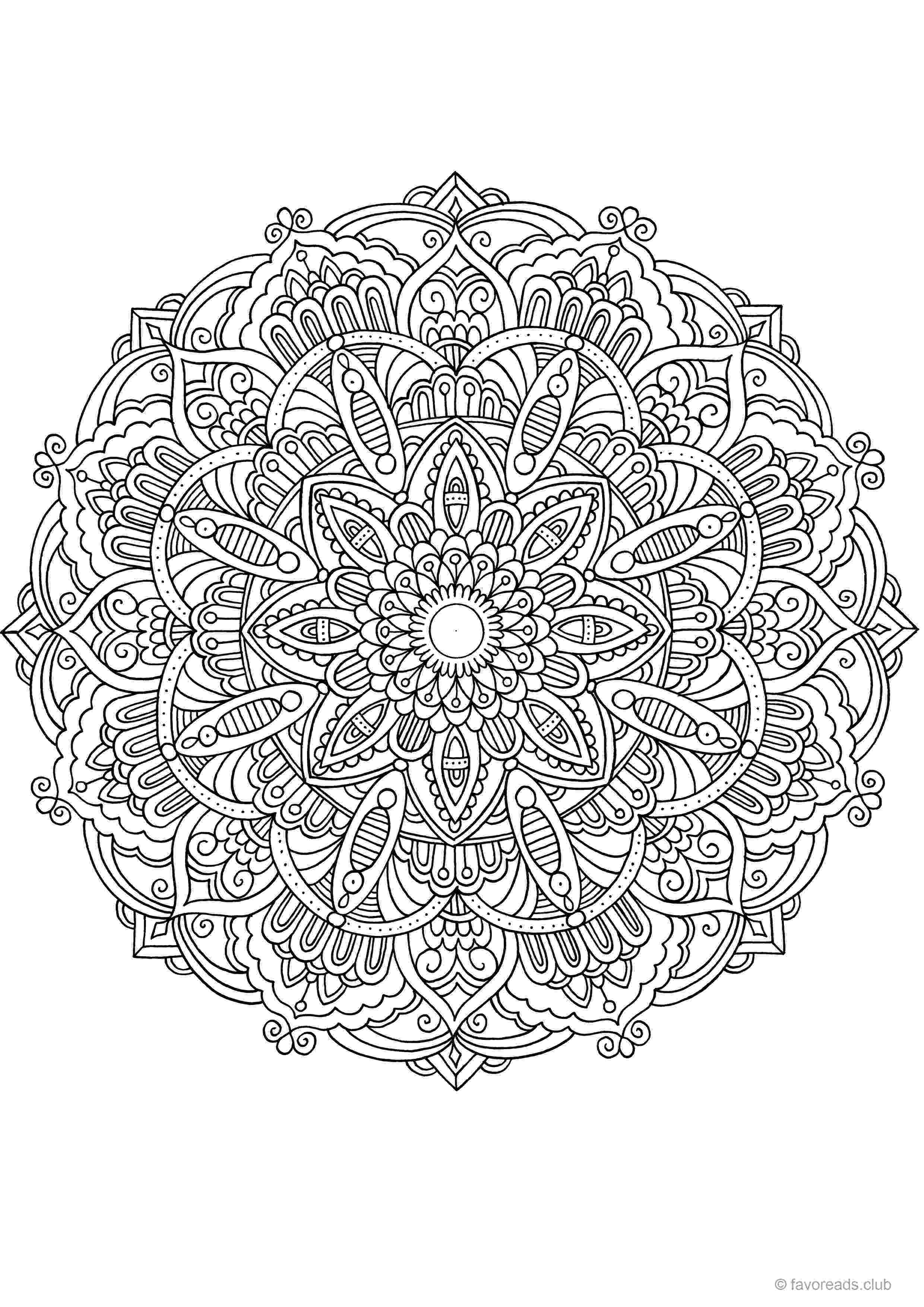 free printable mandala designs printable mandala coloring pages for kids cool2bkids mandala free printable designs