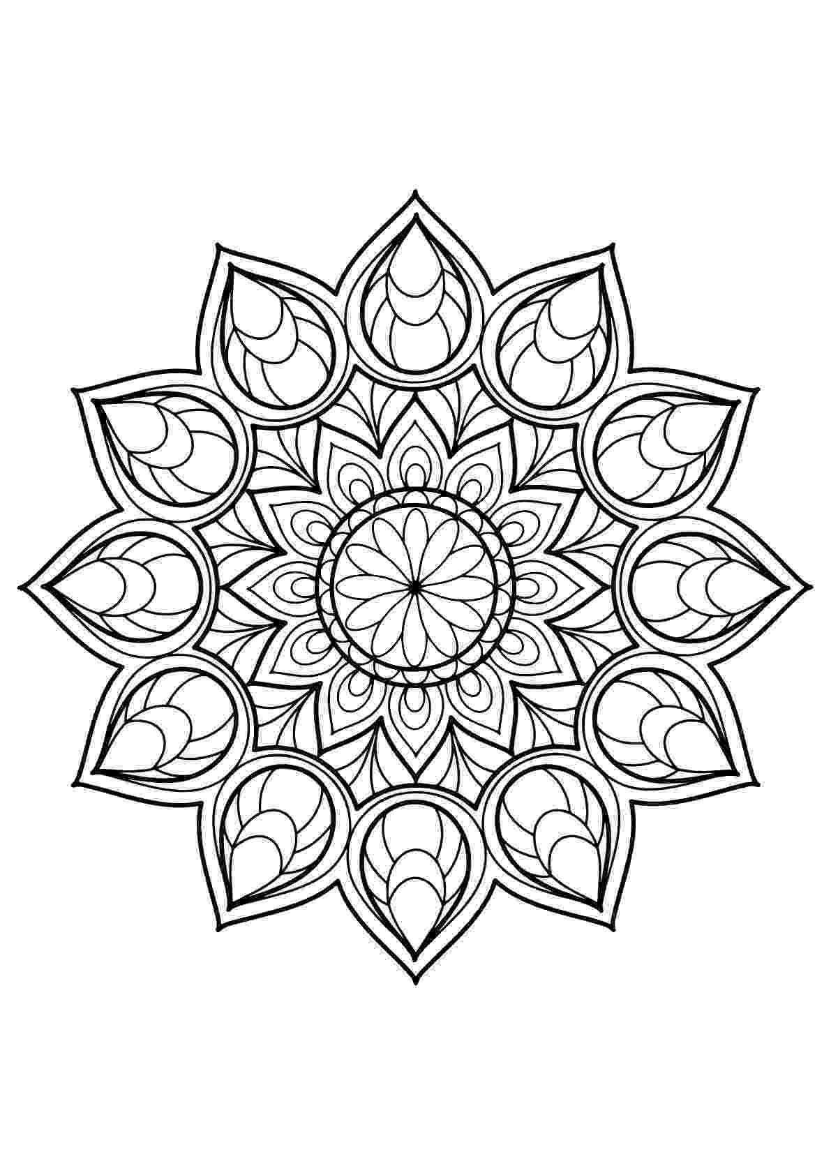 free printable mandalas for adults animal mandala coloring pages to download and print for free free mandalas for adults printable