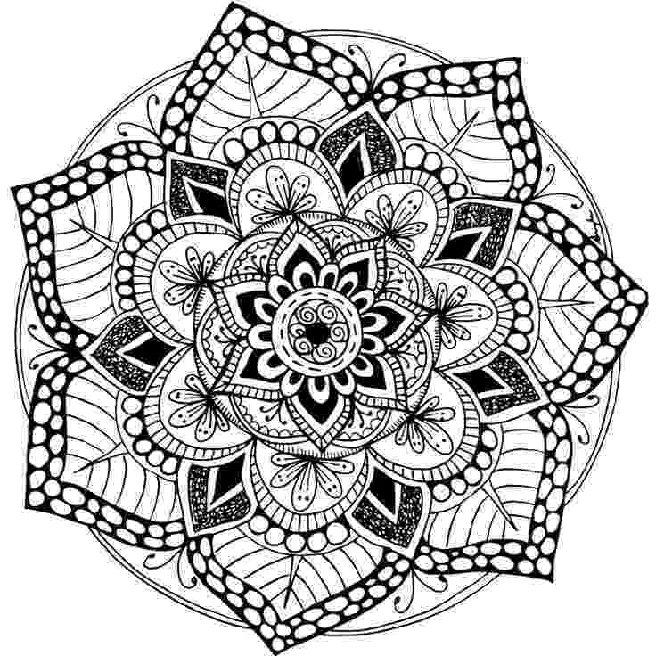 free printable mandalas for adults these printable abstract coloring pages relieve stress and free printable adults for mandalas