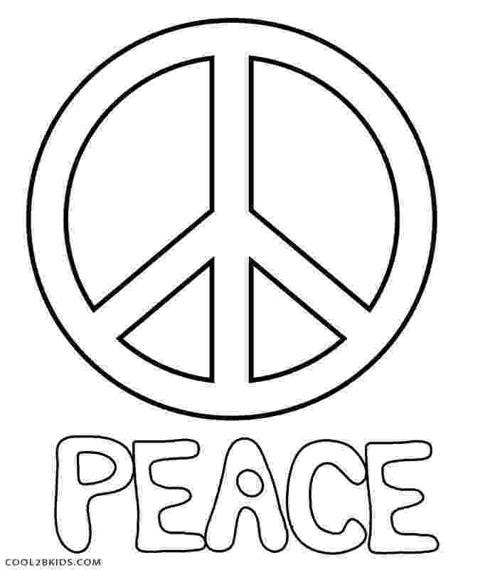free printable peace sign coloring pages free printable peace sign coloring pages cool2bkids pages peace free sign printable coloring