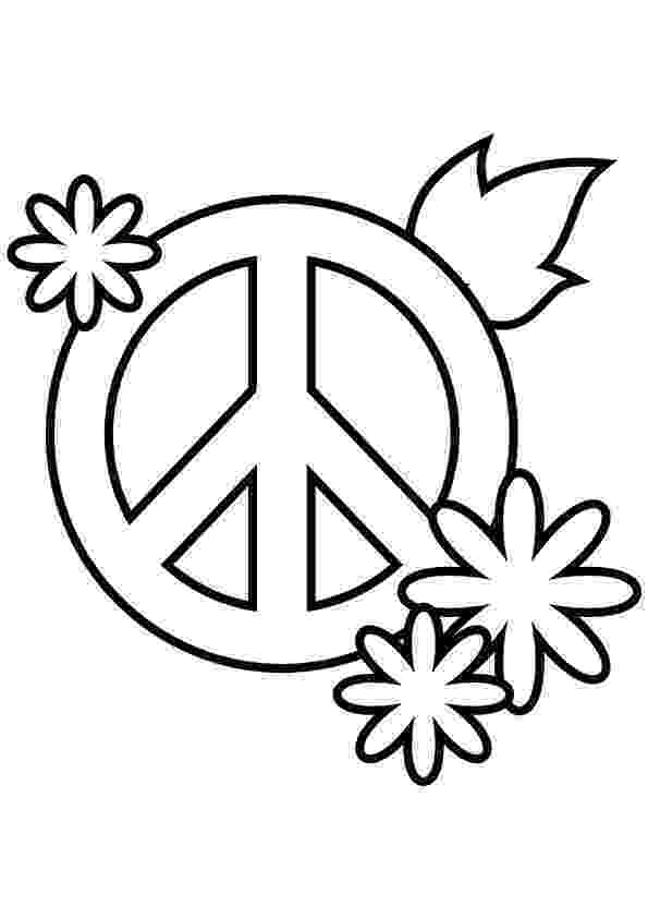 free printable peace sign coloring pages simple and attractive free printable peace sign coloring peace printable sign pages coloring free