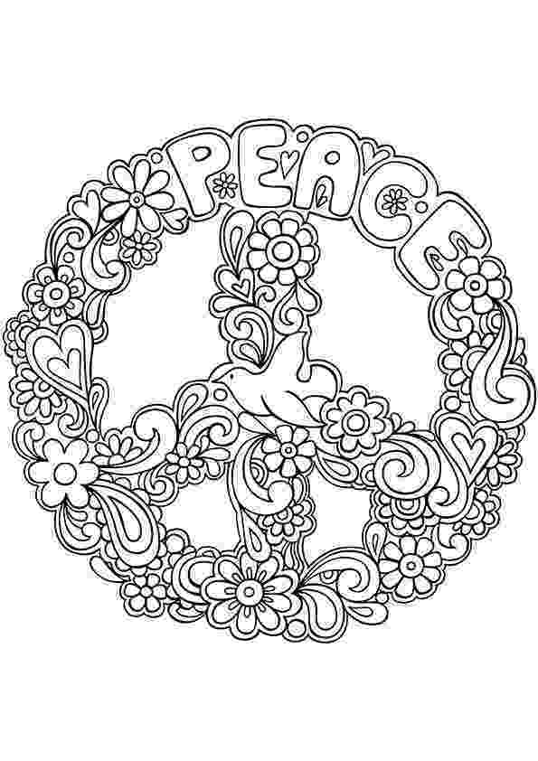 free printable peace sign coloring pages simple and attractive free printable peace sign coloring sign peace coloring free printable pages