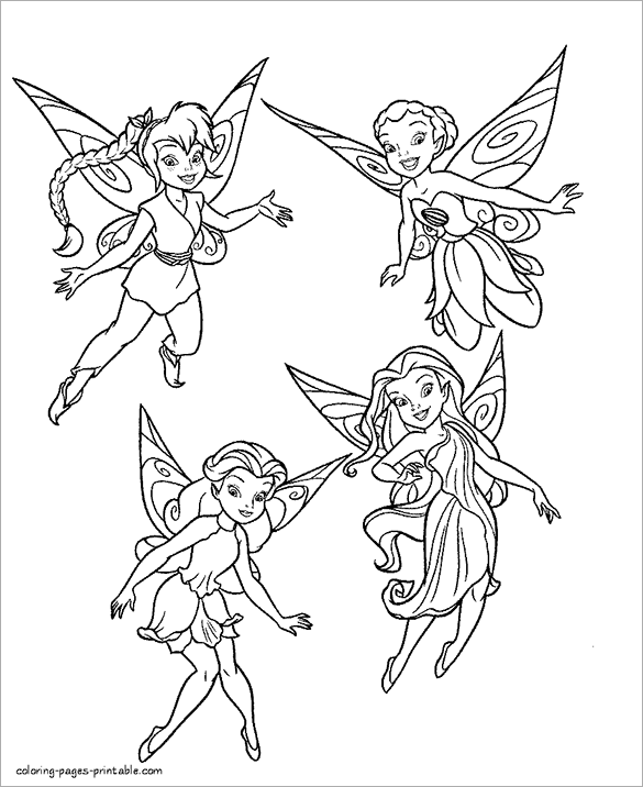free printable pictures of fairies free printable disney fairies coloring pages for kids printable of pictures fairies free