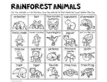 free printable rainforest animals safari or african savanna animals free printable printable animals free rainforest