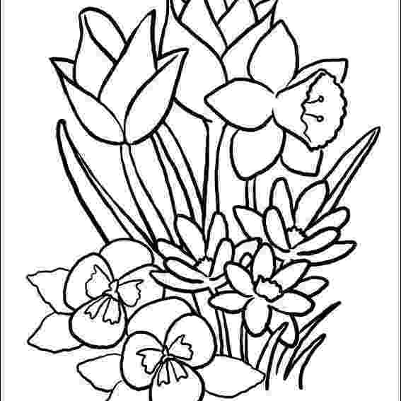 free printable spring flower coloring pages birds and flowers spring coloring page favecraftscom flower spring printable free pages coloring