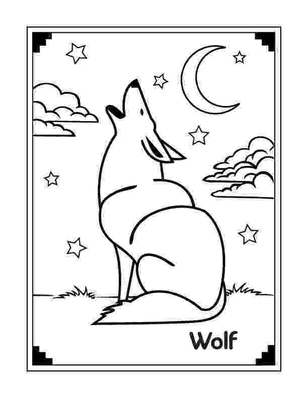 free printable wolf coloring pages wolf to print for free wolf kids coloring pages pages free wolf coloring printable