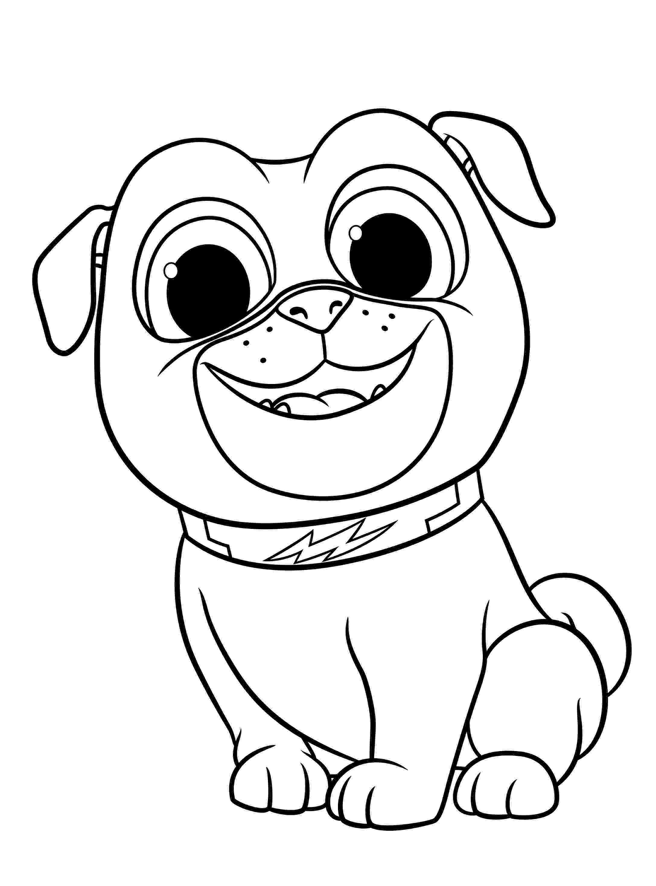 free puppy coloring pages puppy dog pals coloring pages to download and print for free coloring puppy free pages