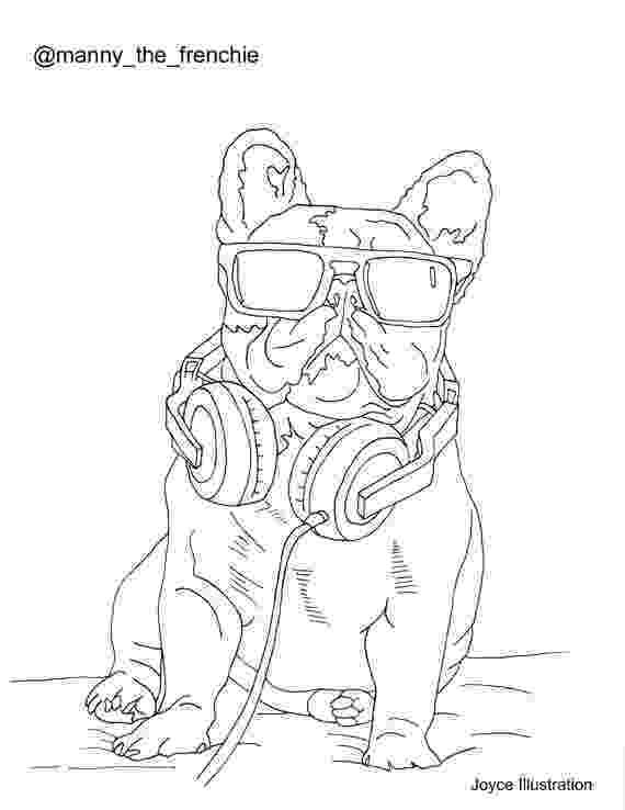 french bulldog coloring pages colouring book bulldog by joyceillustration favorite bulldog coloring pages french