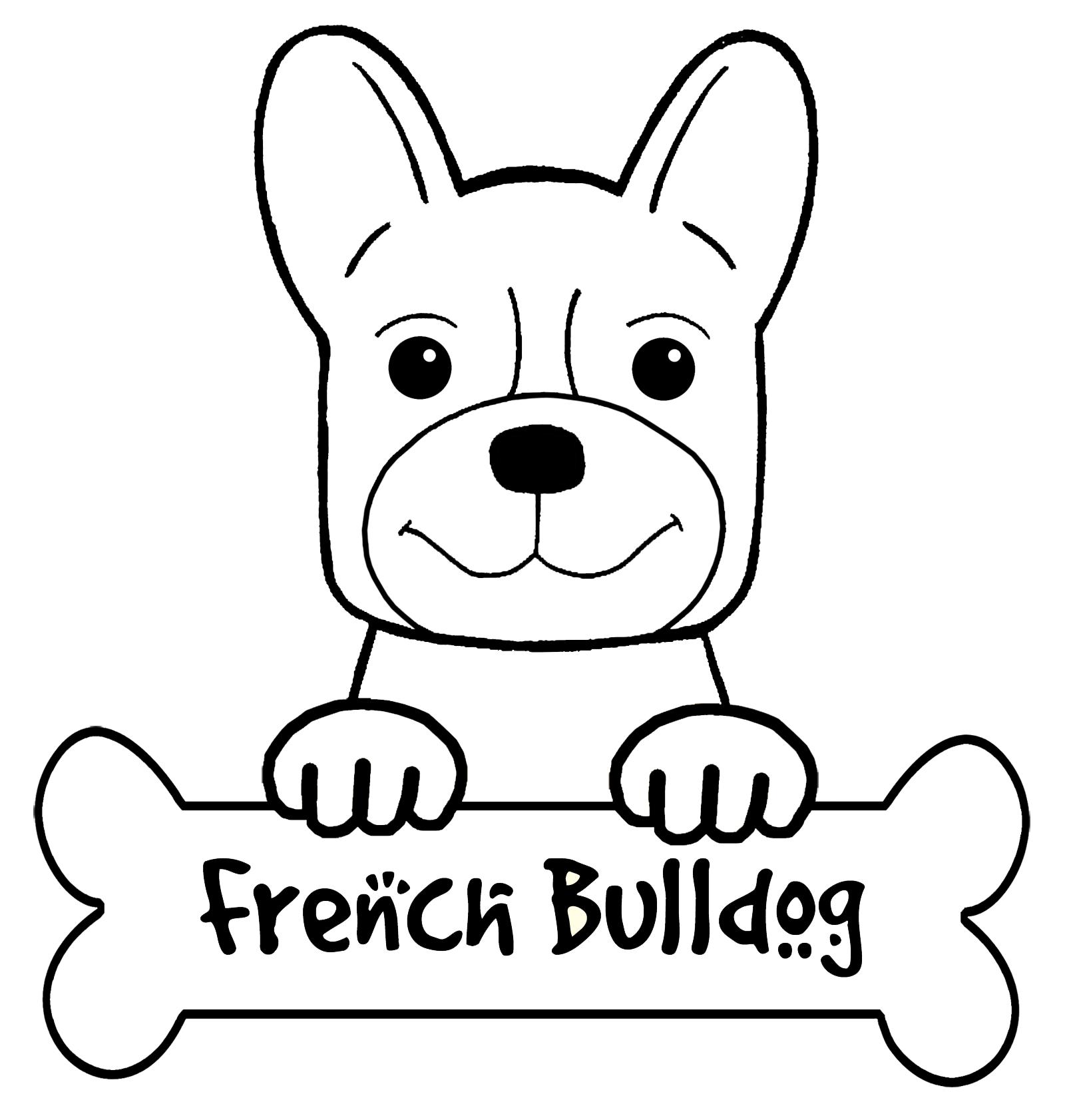 french bulldog coloring pages french bulldog coloring page coloring sky pages french coloring bulldog