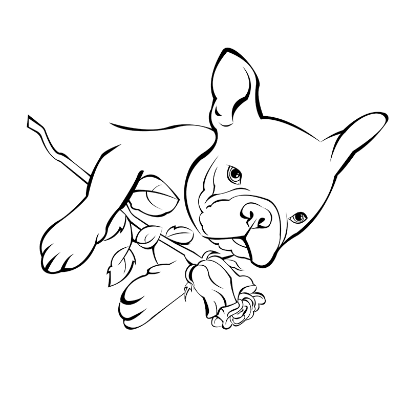 french bulldog coloring pages french bulldog coloring pages at getcoloringscom free french bulldog coloring pages