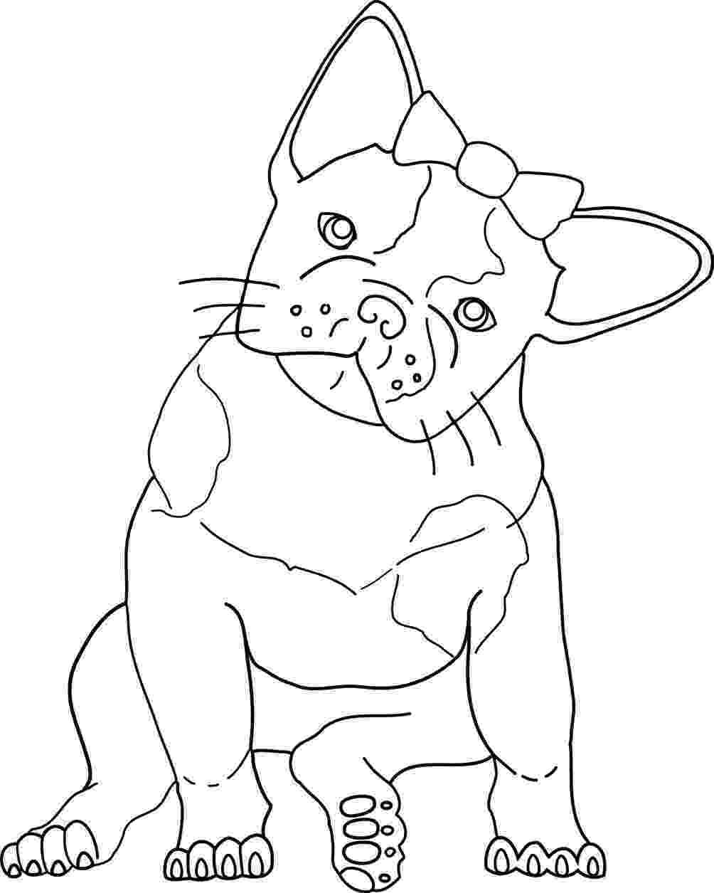 french bulldog coloring pages french bulldog coloring pages coloring home french pages coloring bulldog