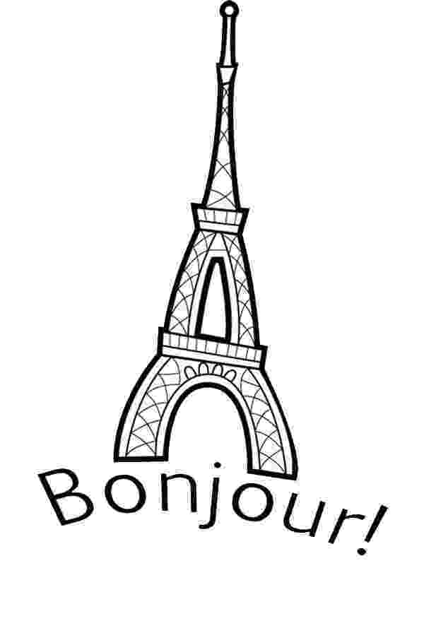 french christmas coloring sheets eiffel tower is in france coloring page download print christmas sheets coloring french