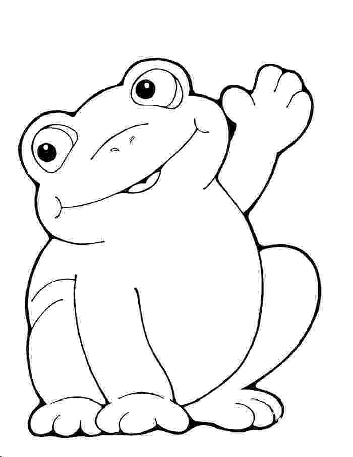 frog to color coloring pages for kids frog coloring pages to color frog