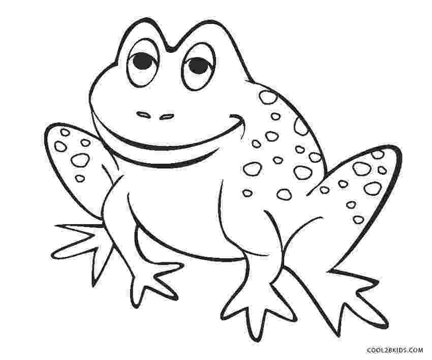 frog to color free printable frog coloring pages for kids cool2bkids frog color to