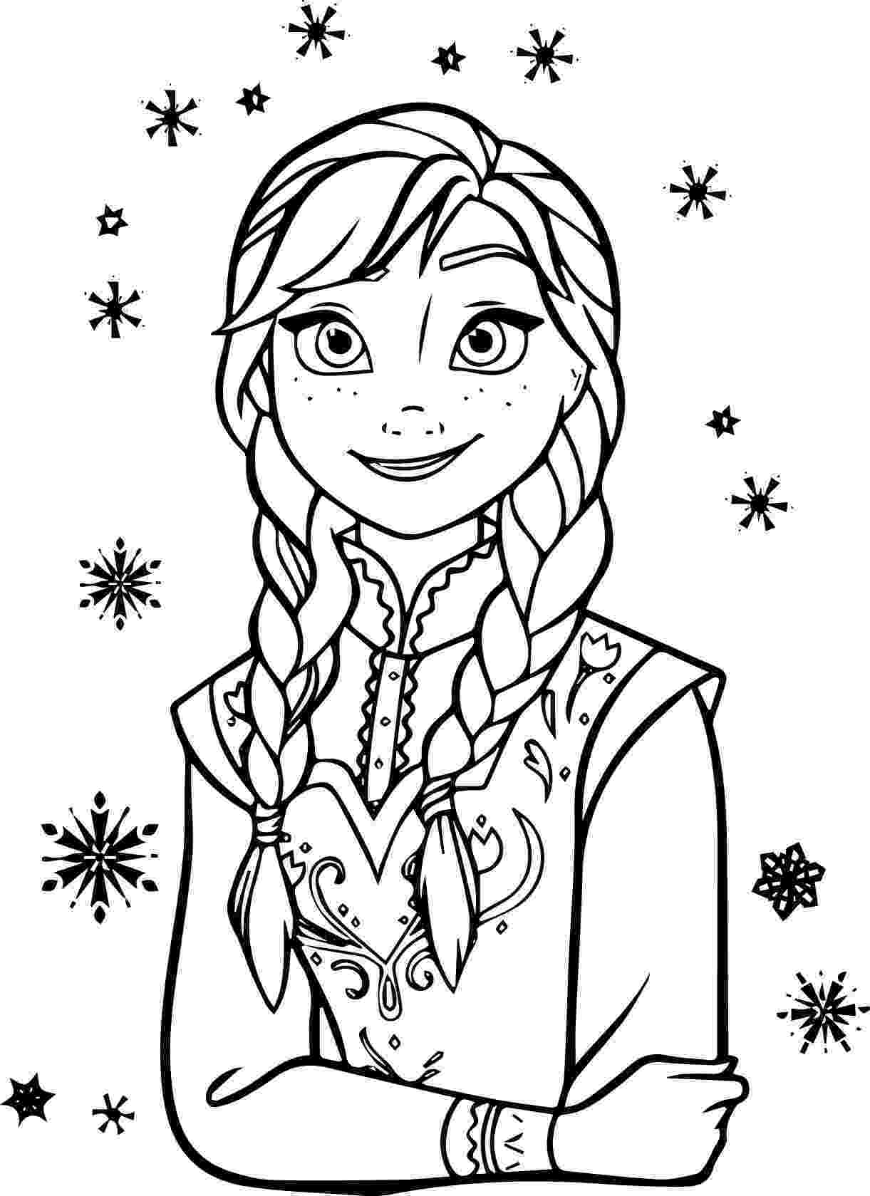 frozen anna coloring pages 12 free printable disney frozen coloring pages anna anna frozen pages coloring