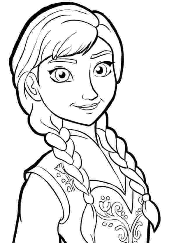 frozen anna coloring pages 8 best images about frozen pictures to color on pinterest pages anna frozen coloring
