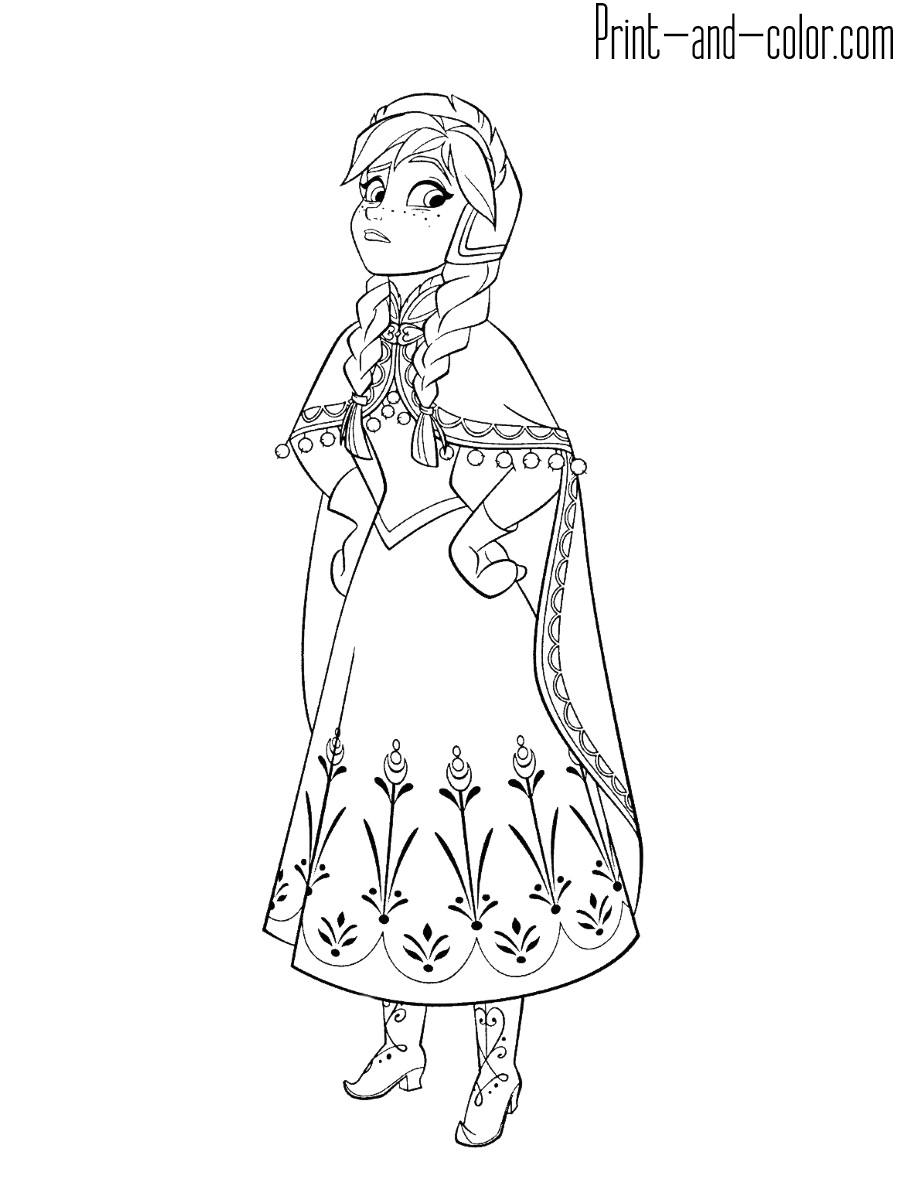 frozen anna coloring pages elsa and anna coloring pages google search character anna coloring frozen pages