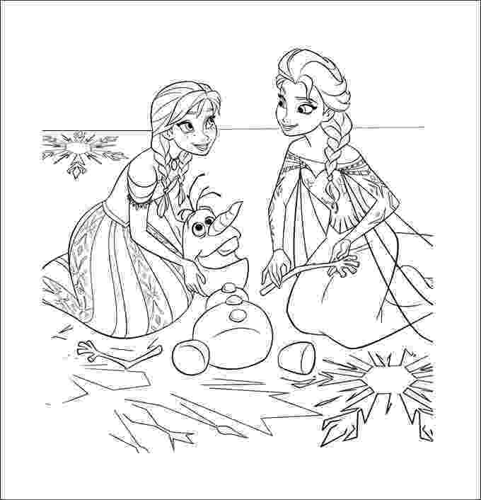 frozen coloring printables frozen coloring pages animated film characters elsa frozen printables coloring