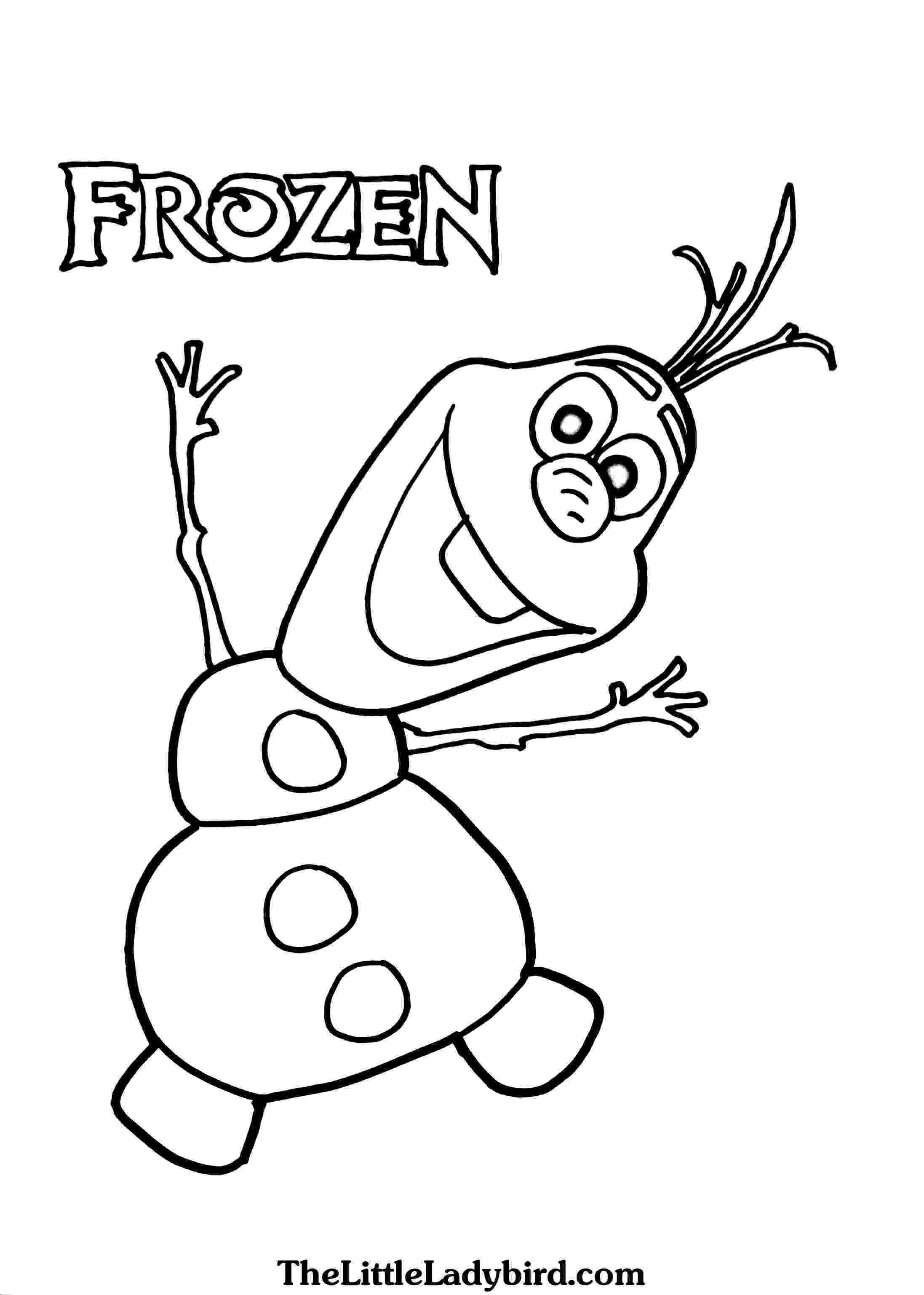 frozen olaf coloring nice ideas olaf frozen coloring pages page party pinterest coloring olaf frozen