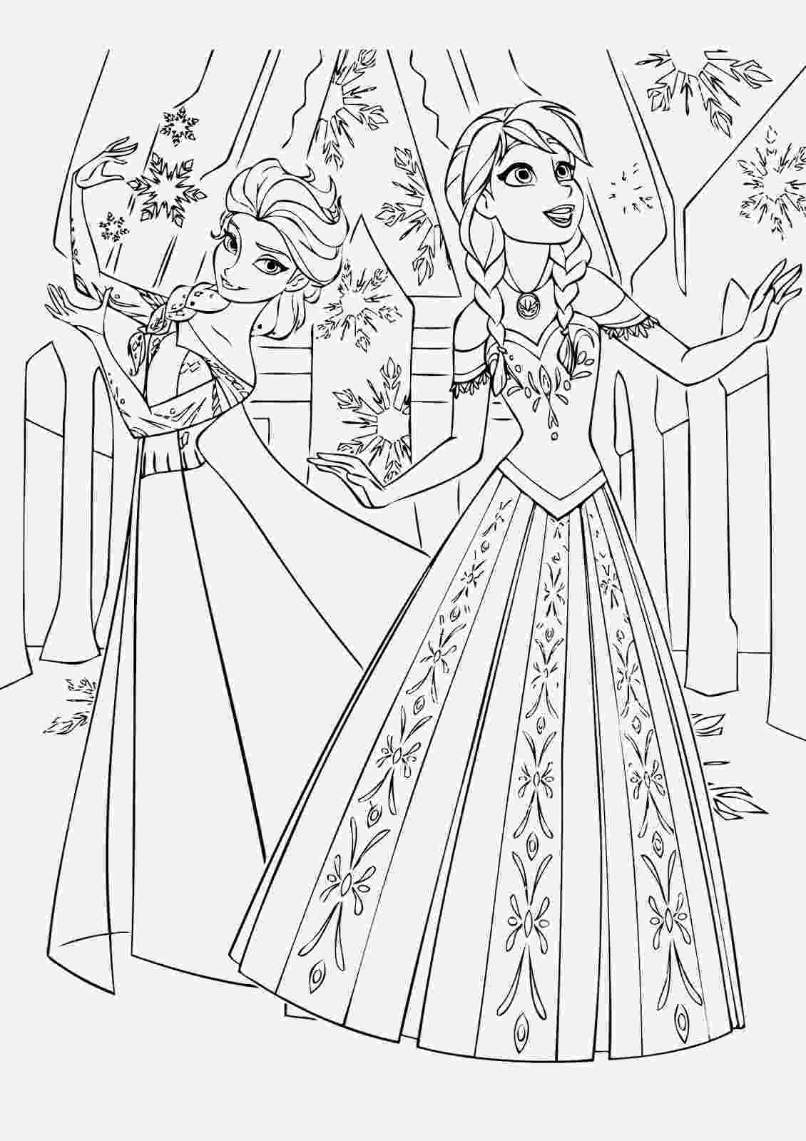 frozen printable colouring pages frozen coloring pages animated film characters elsa printable frozen colouring pages