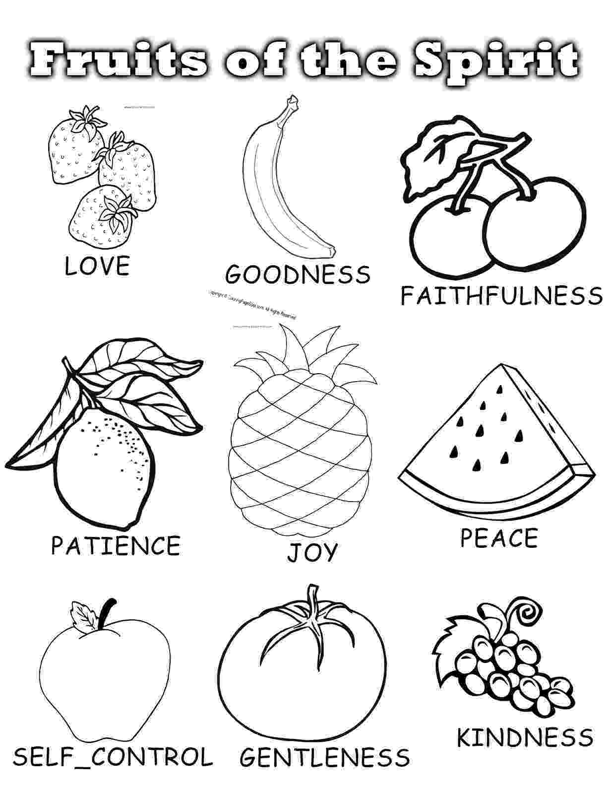 fruit coloring sheets fruit coloring pages for childrens printable for free coloring fruit sheets 1 1