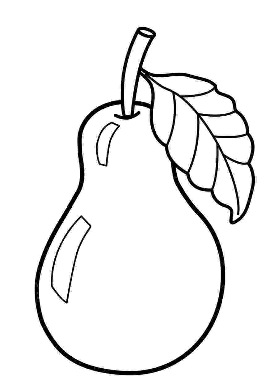 fruit images to color fruit coloring pages getcoloringpagescom to images fruit color
