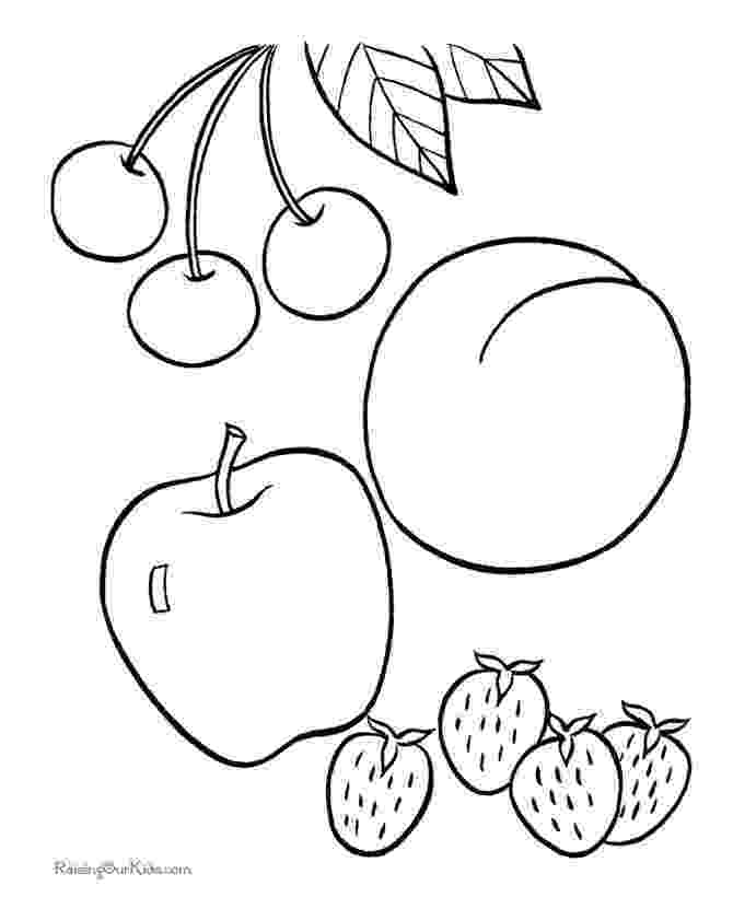 fruit images to color fruit picture to print and color fruit coloring pages color to fruit images