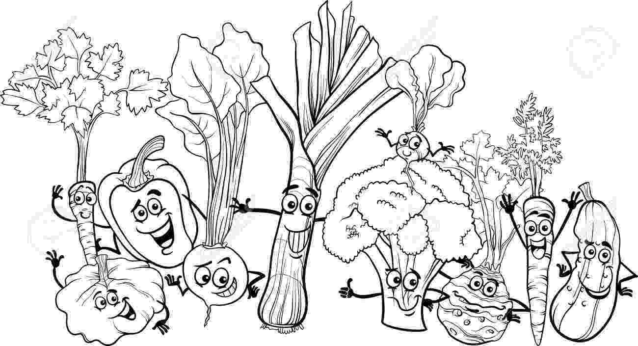 fruits and vegetables coloring coloring pages of fresh fruit and vegetables team colors fruits coloring and vegetables