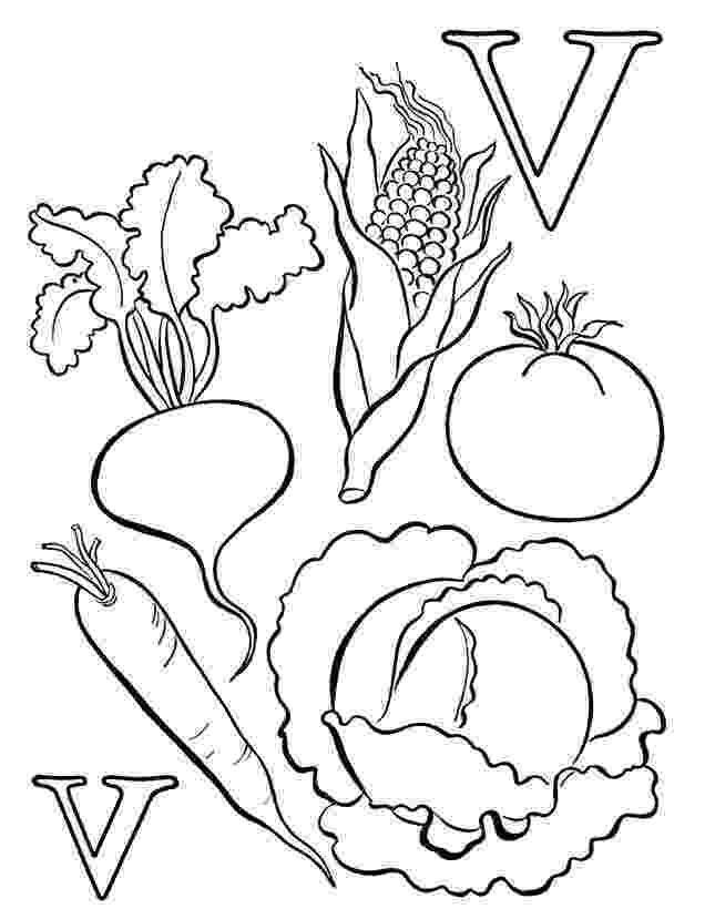 fruits and vegetables coloring free coloring pages of vegetable gardens fruits and vegetables coloring