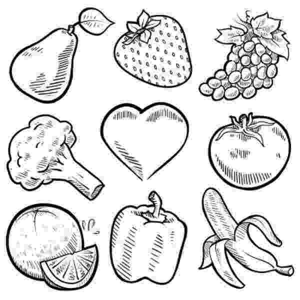 fruits and vegetables coloring vegetable coloring pages best coloring pages for kids coloring and fruits vegetables