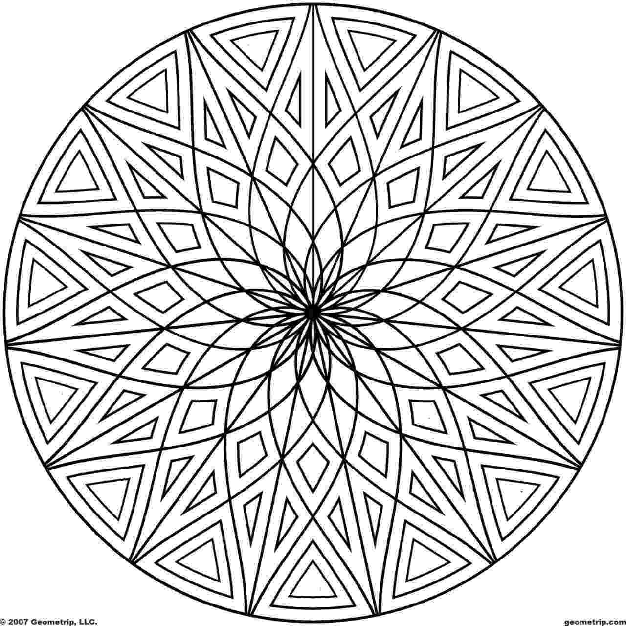 fun designs to color free printable geometric coloring pages for kids color designs to fun