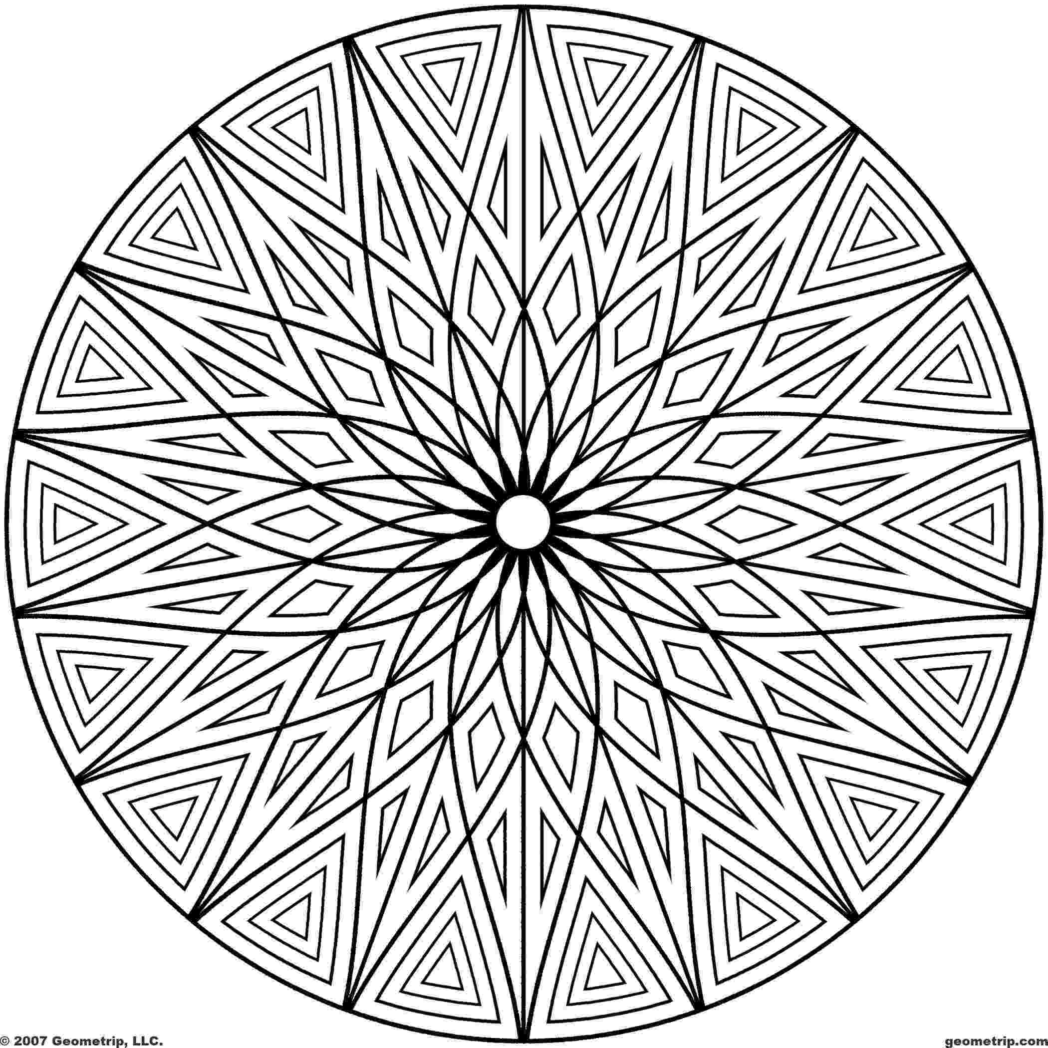 fun designs to color free printable mandala coloring pages shapes page 1 of color fun to designs