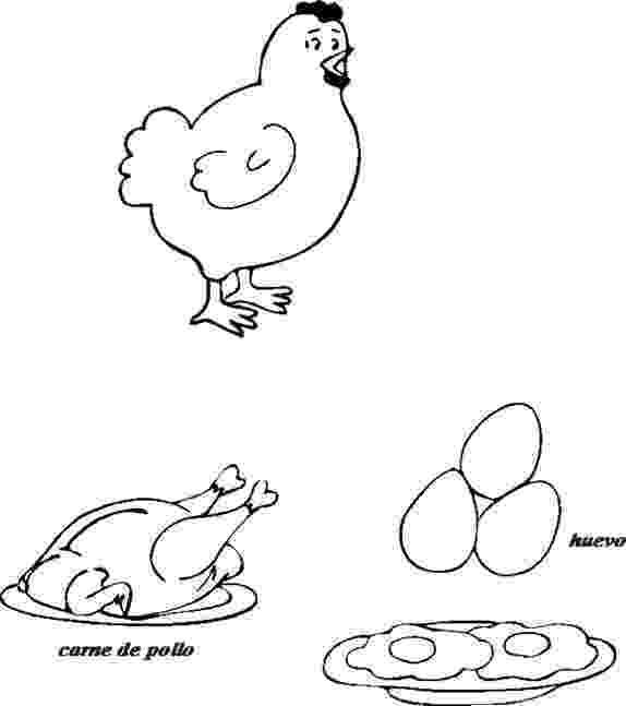 gallina para colorear cuentosdedoncococom derivados de la gallina para para gallina colorear