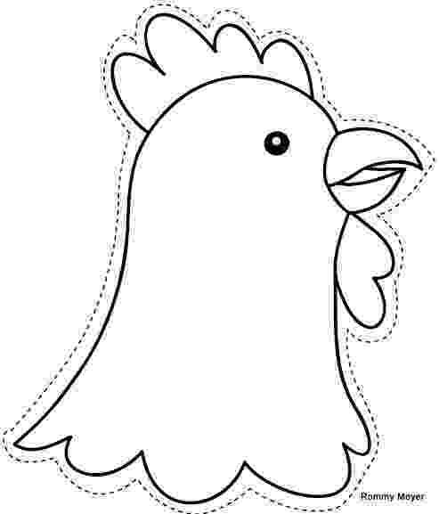 gallina para colorear manualidades e ilustraciones de animales para colorear gallina colorear para