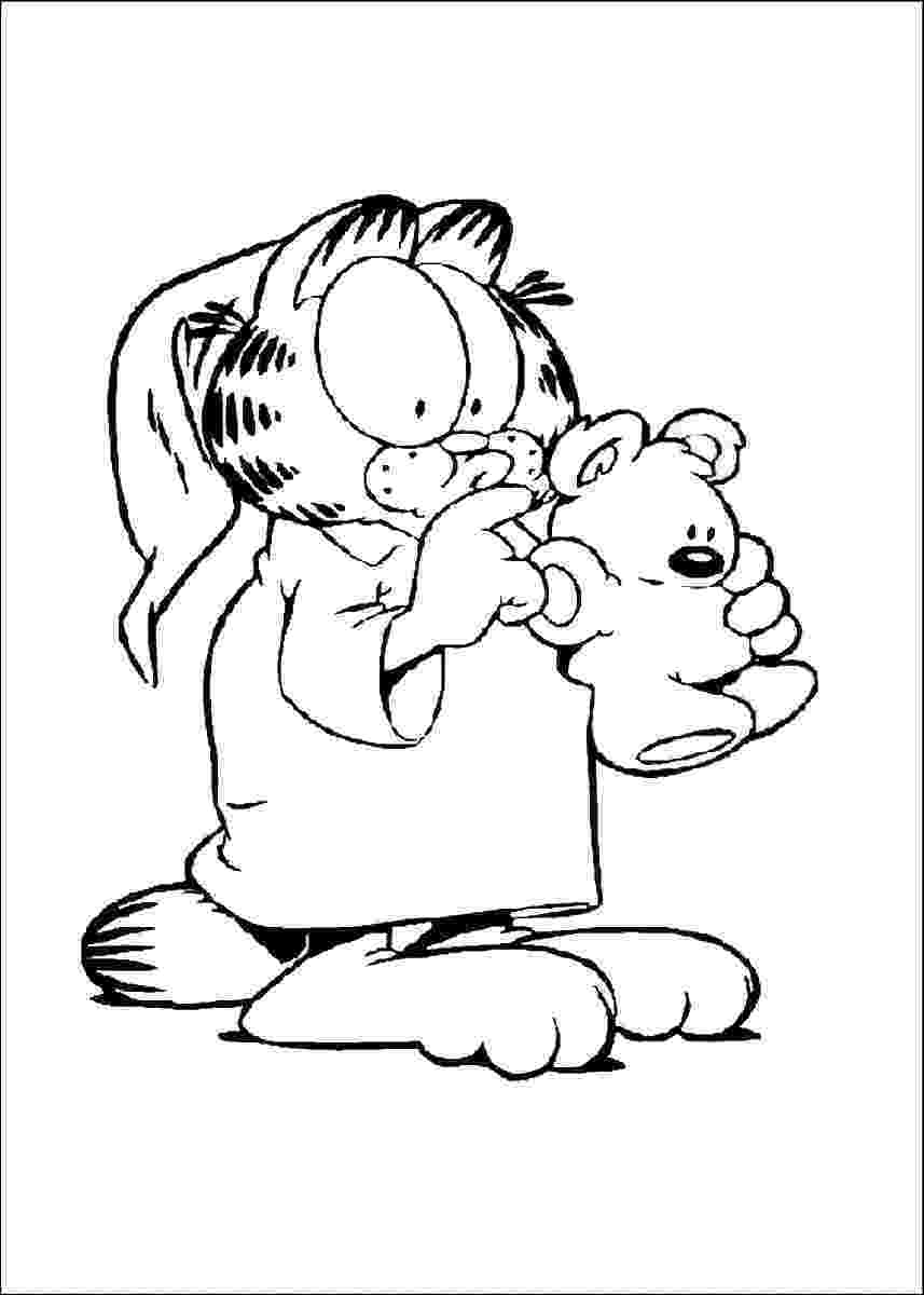 garfield pictures to print get this easy printable garfield coloring pages for print garfield pictures to