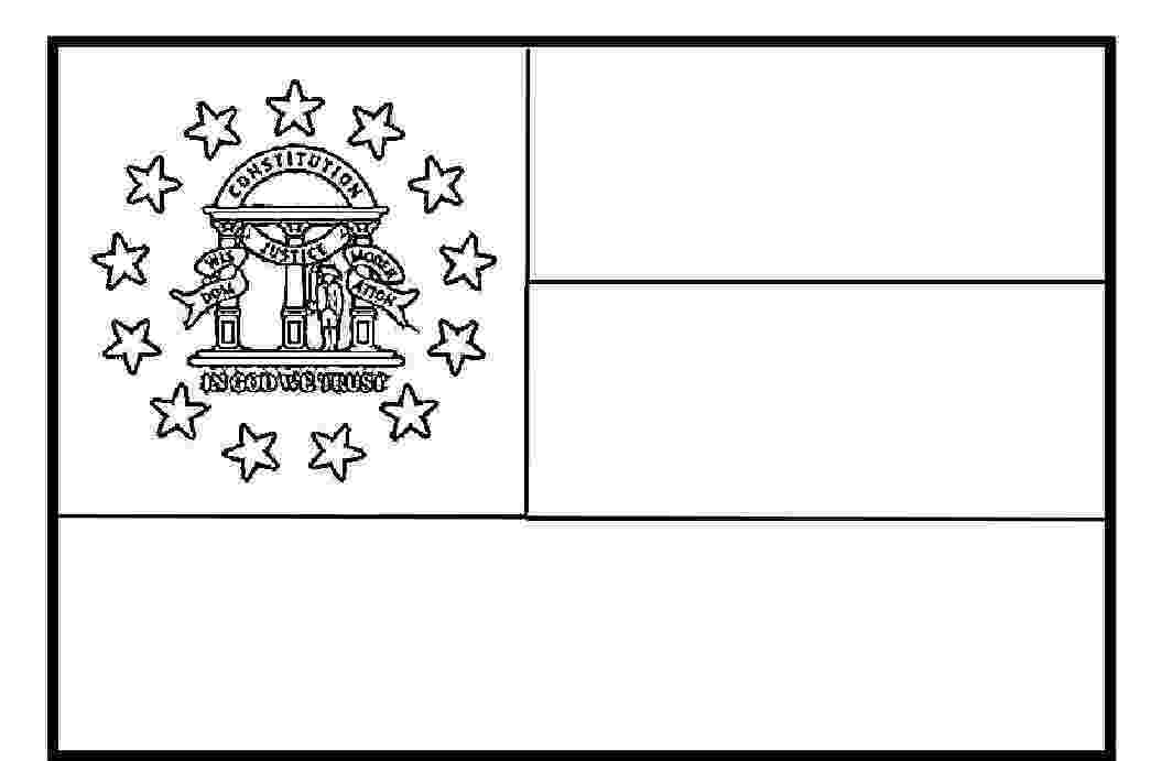 georgia state flag to color georgia state flag coloring page here s the state flag you flag georgia state to color