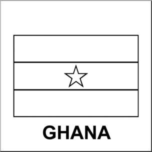 ghana flag coloring page clip art flags ghana bw i abcteachcom abcteach page ghana coloring flag