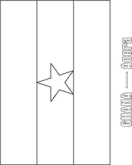 ghana flag coloring page ghana flag coloring page download free ghana flag coloring flag ghana page