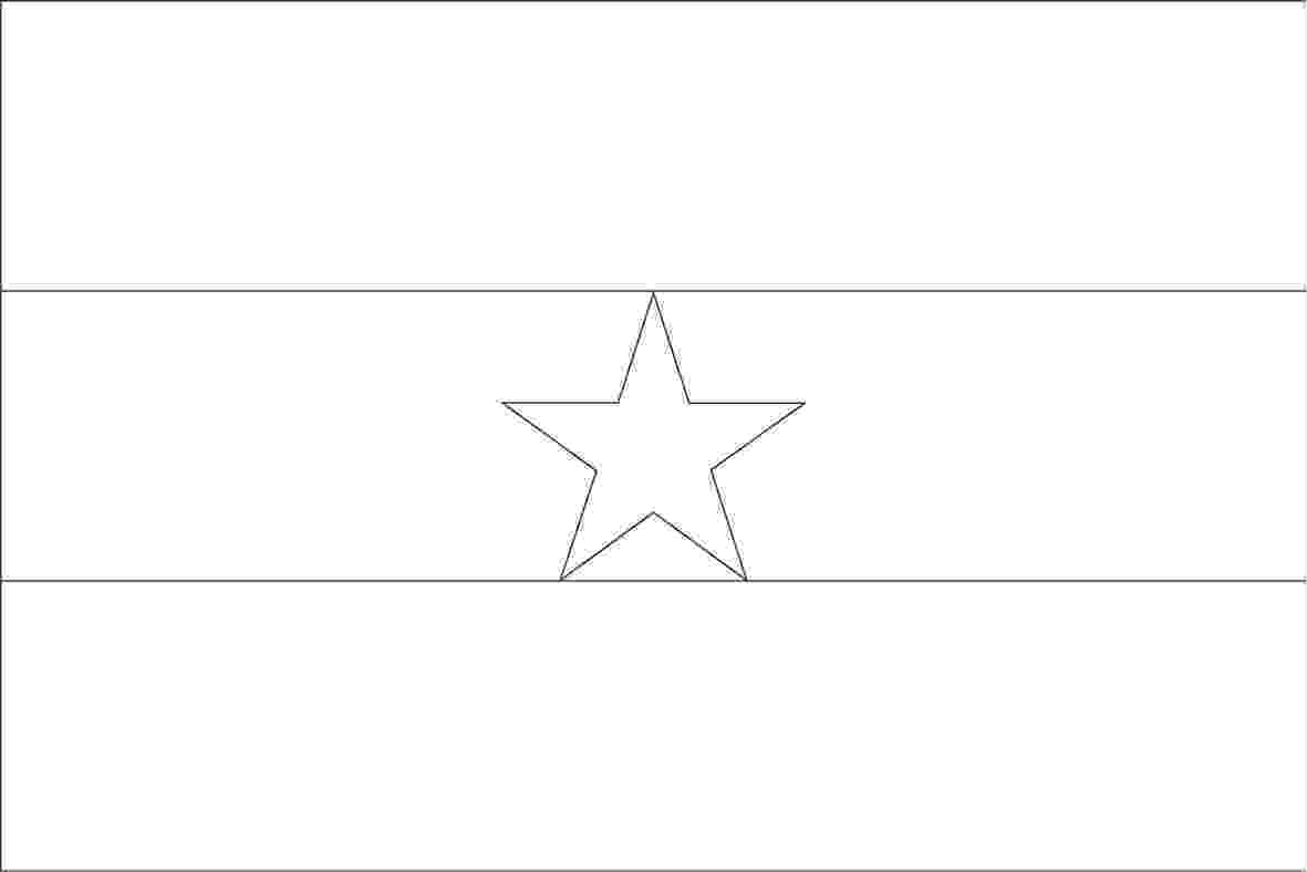 ghana flag coloring page world flags coloring pages 3 page coloring ghana flag